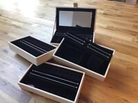 Pandora 4 stack tier jewellery box