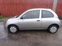 2005 NISSAN MICRA 1.2 3 DR LOW MILES PX WELCOME