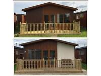 Mablethorpe holiday chalets to let.