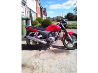 moto roma 125 2013 13k mls 4 stroke full mot exc. condition