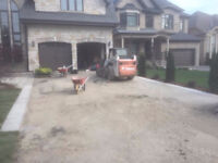 Interlocking, Concrete Stamped, Deck and Fence - Mr.Chan**.