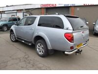 MITSUBISHI L-200 WARRIOR LWB DOUBLE CAB 4X4 PICK-UP – 13-REG