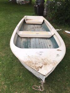 Fibre glass boat