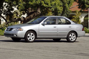 2004 Nissan Sentra PARTS FOR SALE- ENGINE+ TRANNY INCLUDED