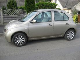 Nissan Micra Auto 1.3, SE 5dr Hatchback 26K miles, petrol