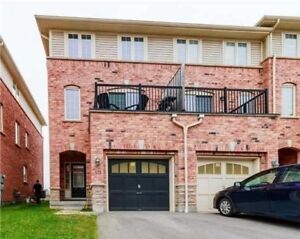 Newer End Unit(Like Semi)FREEHOLD (no fees!) In North/East Ajax!