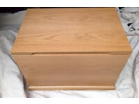 storage box toy box in solid wood