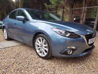 Mazda3 2.2 TD SKYACTIV-D Sport Nav Fastback 4dr FREE 1 YR WARRANTY, HEAD UP DISPLAY, P/X WELCOME