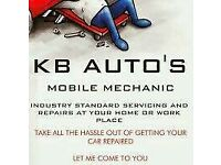 KB AUTOS 24hr MOBILE MECHANIC/RECOVERY