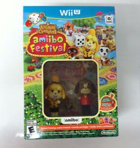 Nintendo WiiU Animal Crossing Amiibo Festival BRAND NEW SEALED!