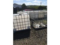 1000 lts containers IBC Drums
