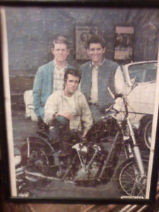 Vintage Happy Days framed puzzles