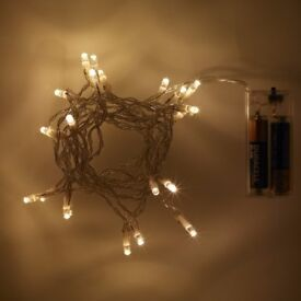 20 LED Fairy Lights - Choice of Colours - Brand New - Kilmarnock Area
