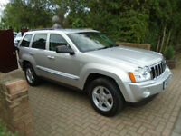 2006 06 Reg Jeep Grand Cherokee 3.0CRD V6 auto Limited