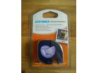 DYMO LetraTag 12267 12mm x 4m Clear Plastic Labels for Personal Labelmaker - UNOPENED
