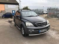 KIA SORENTO 4X4 BLACK MANUAL LOW MILES