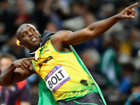 BOLT 100m Final - Sat 5th Aug (Evening) Cat B - IAAF World Championships
