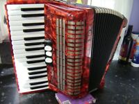 hohner concerto 72 bass accordion lightweight model