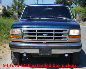 1994 Ford F-250 4x4 Pickup Truck 7.3L diesel engine excellent