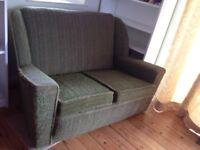 Funky retro vintage sofa