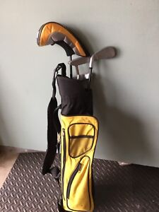 Jr Golf set with bag
