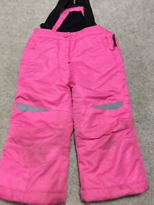 Assorted girls toddler snow pants