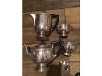 Sheffield Silver Plate 5 piece tea/ coffee set