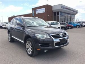 2008 Volkswagen Touareg 2 V6 Comfortline Leather, Sunroof !!