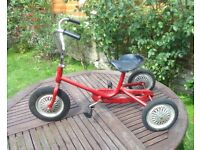 1960s French vintage tricycle