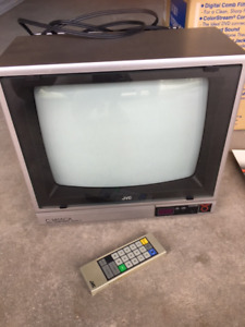 """JVC 14"""" TV with Remote"""