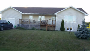 Waterview 3 bedroom home in Richibucto NB