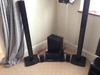LG Surround sound system & DVD player