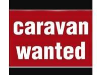 Wanted caravan