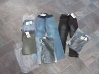 10 pairs girls jeans age 4 brand new with tags