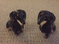 Dacshund salt and pepper shaker