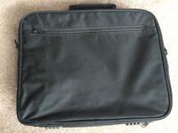 Black, 15.6 inch laptop bag