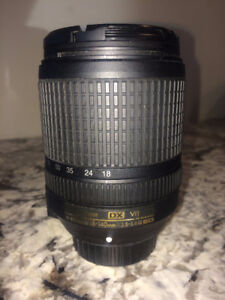NICON DXVR camera Lense 18-140mm 1:3.5-5.6G