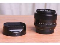 Fuji 35mm F1.4 lens