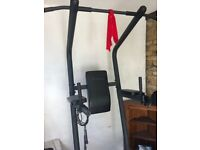 Gym Master Power Tower - Pull-up/Dip bar frame workout station