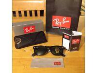 Ray Ban Wayfarer Sunglasses (RB 2140 901) - NEW & Boxed