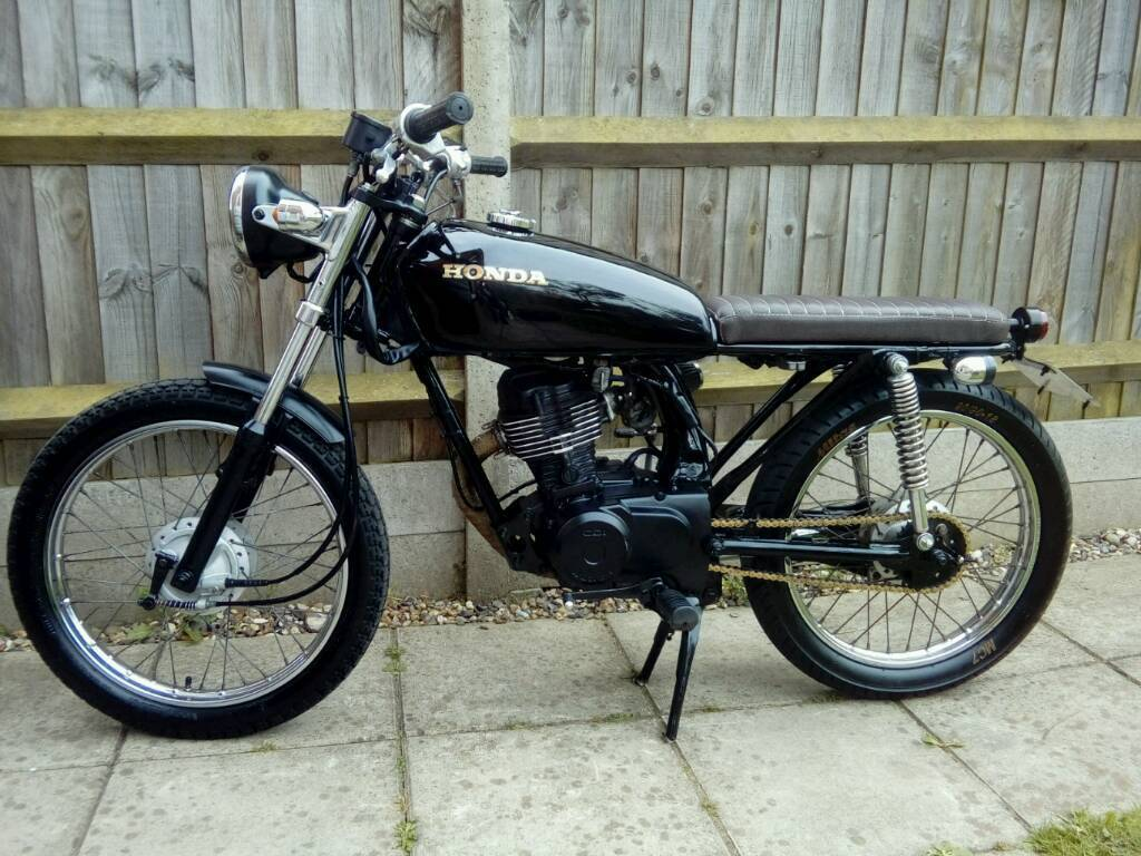honda cg 125 street tracker in norwich norfolk gumtree. Black Bedroom Furniture Sets. Home Design Ideas