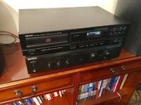 Hi fi Seperates Sony Amp / Denon CD player - Retro