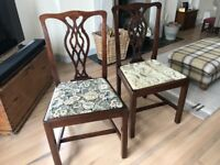 2 High-Quality Edwardian Chairs