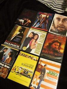 DVD movies assorted - used
