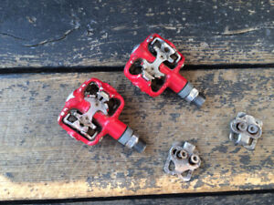 Clipless Pedals & Cleats