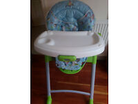 Baby feeding chair.
