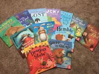 Brand new set of 12 reading books for young children