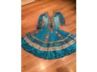 wedding party indian anarkali dress