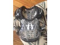 polisport xp1 motocross body armour size youth small/medium