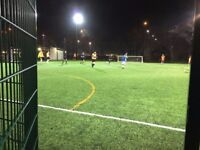 New teams wanted for 7-a-side Sunday Leagues in Shoreditch!